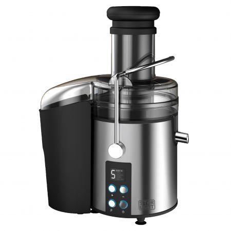 Storcator de fructe si legume Star-Light DPJ-800W, 800 W, Recipient suc 1 l, Recipient pulpa 2 l, 5 Viteze, Tub de alimentare 75 mm, Control digital