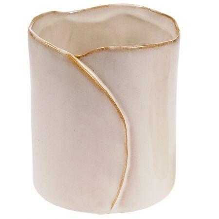 Ghiveci din ceramica, Maxx, crem, 11 x 10