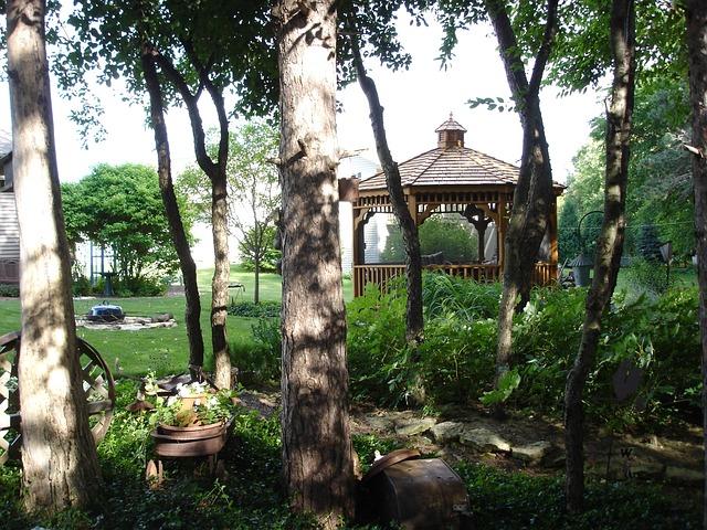 pavilioane pentru grădină